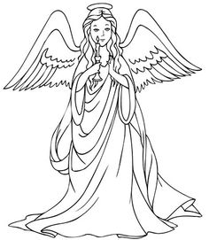 Looking for a Christmas Angels Coloring Pages. We have Christmas Angels Coloring Pages and the other about Coloring Pages it free. Angel Coloring Pages, Love Coloring Pages, Free Printable Coloring Pages, Adult Coloring Pages, Coloring Pages For Kids, Coloring Books, Free Coloring, Coloring Sheets, Free Christmas Coloring Pages