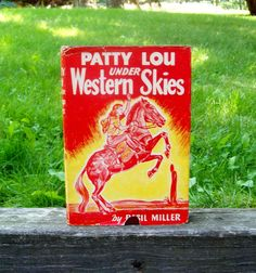 Vintage 1950 Hardcover Book Patty Lou under by Raidersoflostloot, $6.50