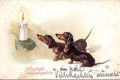Новогодние открытки. Символика | Творческое объединение Classic | ВКонтакте