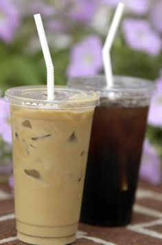 I'll take an iced coffee please.