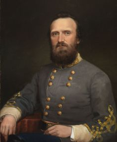"""General Thomas Jonathan """"Stonewall"""" Jackson, C. - At a time when much was going wrong for the South in the Civil War, Thomas J. """"Stonewall"""" Jackson carried the hopes of a nation on his lightning marches through the Shenandoah Valley. American Civil War, American History, Native American, Battle Of Chancellorsville, Battle Of Antietam, Civil War Art, Stonewall Jackson, Confederate States Of America, Confederate Monuments"""