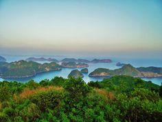 Cat Ba National Park, Vietnam - View from Cat Ba Island, Vietnam
