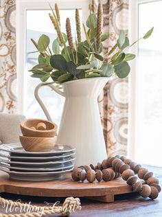 Fast and easy late summer to early fall farmhouse centerpiece    Worthing Court Blog