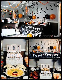 DIY Decor for a Halloween Party