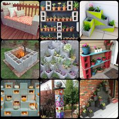 40 + Cool Ways to Use Cinder Blocks