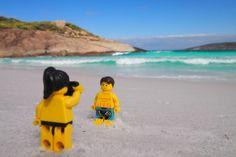 Die Urlaubsfotos eines Lego-Pärchens auf Weltreise