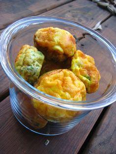 Broccoli Cheddar Egg Muffins- a healthy easy breakfast idea