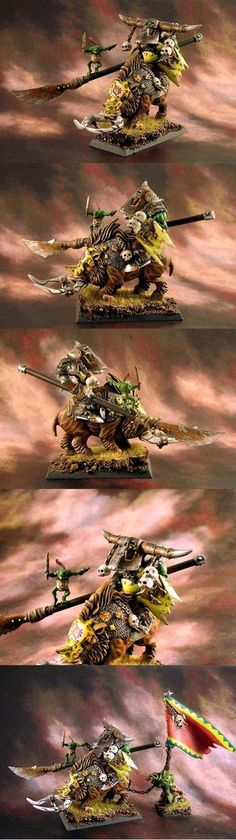 Boar Rider Orc  for Orcs & Goblins @ Warhammer Fantasy Battles