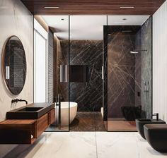 """713 Likes, 8 Comments - ABYTECTS (@abytects) on Instagram: """"@Regrann from @allofrenders - #allofrenders Bathroom Goals ♥ Tag friends Render by @quadro_room…"""""""