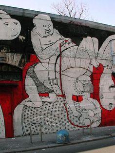 Blu. street art is the king