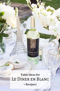 What a magical evening The Rose Table en Blanc was! I bought a six foot table to set up in the middle of my garden and invited five foodie friends over for a Le Diner en Blanc-inspired dinner party… Dinner Party Decorations, Dinner Themes, Decoration Table, Picnic Dinner, Dinner Table, White Dinner, Paris Decor, Paris Theme, Brunch