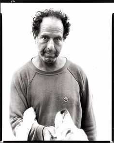 ROBERT FRANK  photographed by Richard Avedon, 1975