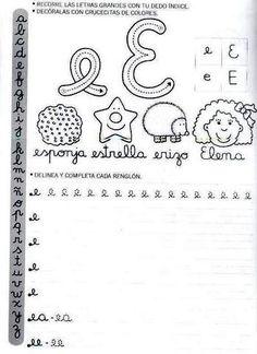Actividades Escolares: caligrafía para el primer ciclo