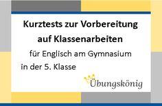 Kostenlose Übungen für Englisch am Gymnasium zum Thema ...