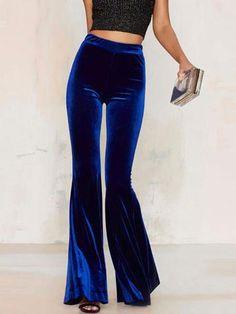 Velvet Bell-Bottoms - An Alternative to the Prom Dress