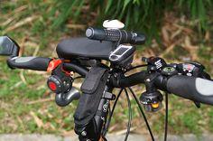 mountain bike cockpit
