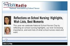 School Nurses Corner: Reflections on School Nursing - pinned by @PediaStaff – Please Visit  ht.ly/63sNt for all our pediatric therapy pins