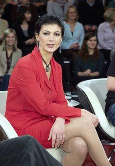 Die Talkshow-Dinos: Sahra Wagenkecht (Bild), Peter Scholl-Latour, Heiner Geißler, Peter Altmaier. - Foto: dpa