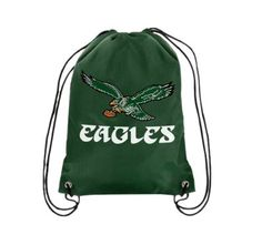 Philadelphia Eagles Retro Drawstring Backpack 33c80b664eeef