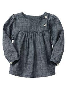 Gap | Chambray long-sleeve shirt