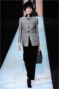 Giorgio #Armani alla Settimana della #Moda di #Milano 2013
