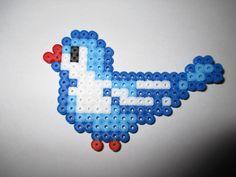 Hama Beads Little Blue Bird