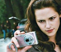 """Bella capturing """"memories"""" with the birthday camera her dad gave her....."""