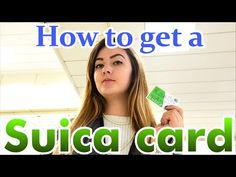 (15) How to get a Suica card in Japan railways スイカ JR カード - YouTube