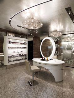 Sahra Spa, Salon & Hammam at The Cosmopolitan of Las Vegas Beauty Salon Decor, Salon Services, Inspiration Wall, Beauty Room, Colorful Decor, Furniture Decor, Las Vegas, Living Spaces, Interior Design