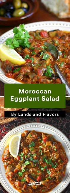 9. Moroccan Eggplant Salad #warm #salad #recipes http://greatist.com/eat/warm-salad-recipes-for-when-its-cold-out