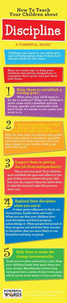 Discipline | Infographic | Parenting | Powerful Words for Child Development http://www.kidsmartialartcenters.com/school/index.php?location=lithia-fl&utm_content=buffer641ec&utm_medium=social&utm_source=pinterest.com&utm_campaign=buffer