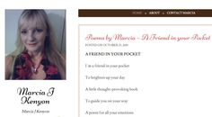 Poems by Marcia – A Friend in your Pocket