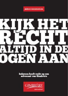 Gimbrere International campagne.