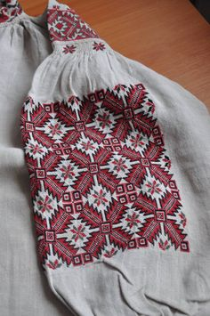 Hand Embroidery Designs, Embroidery Patterns, Knitting Patterns, Folk Fashion, Ethnic Fashion, Polish Embroidery, Folk Costume, Needlework, Cross Stitch