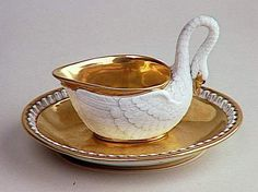 Empress Josephine's swan teacups