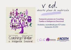 Certificado Internacional de Coaching Familiar e Inteligencia Emocional (ACSTH por ICF)