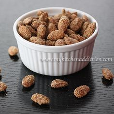 Chai Spiced Roasted Almonds
