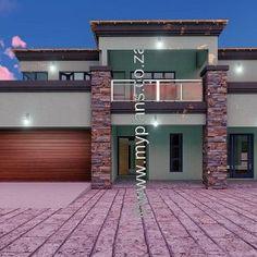 6 Bedroom House Plans – My Building Plans South Africa Home Design Floor Plans, Plan Design, My Building, Building Plans, Round House Plans, 6 Bedroom House Plans, Floor Layout, Guest Suite, Open Plan Living