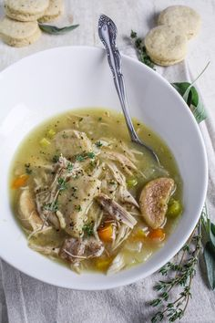 Rabbit Stew with Black Pepper Dumplings {Katie at the Kitchen Door}