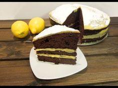 La merienda perfecta: #Pastel de #chocolate y #limón fácil #receta casera paso a paso, incluye vídeo en HD. #golosolandia   http://www.golosolandia.com/2015/06/pastel-de-chocolate-y-limon.html