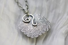 Back of handmade sterling silver setting by: Angie Pember Brockey