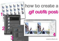 how to create a .gif outfit post