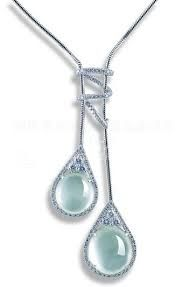 Image result for 昭仪翠屋 Jade Jewelry, Designer Collection, Jewelry Collection, Celadon, Jewelry Design, Gems, Diamond Necklaces, Jewels, Pendant