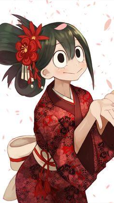 Tsuyu Asui / Froppy (My Hero Academia) Boku No Hero Academia, My Hero Academia Tsuyu, My Hero Academia Manga, Tsuyu Asui, Boku No Hero Tsuyu, Character Art, Character Design, Deku Anime, Bakugou Manga
