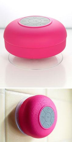Bluetooth Shower Speaker // I always find myself wanting to listen to music in the shower lol