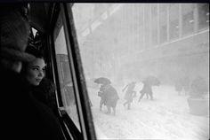 Snowstorm, NYC. 1967.
