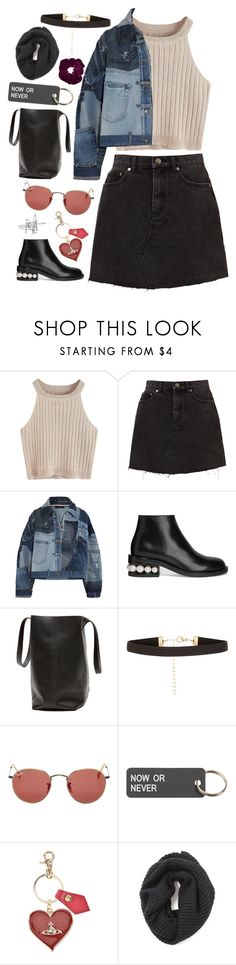 """Back to S"" by mode-222 ❤ liked on Polyvore featuring Dolce&Gabbana, Nicholas Kirkwood, New Look, Ray-Ban, Various Projects, Vivienne Westwood and Topshop"
