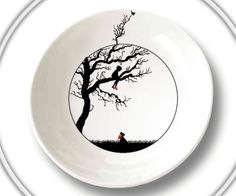 What made the little boy climb the tree? Eat your soup to find out! [via Domestic Sltry]