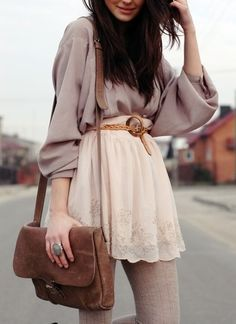 Wow, I never knew pale neutrals could look so good together.