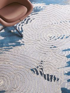 Architectural Materials // Durkan's Lakir Broadloom in nylon by Mohawk Carpet. Interesting texture and pattern.